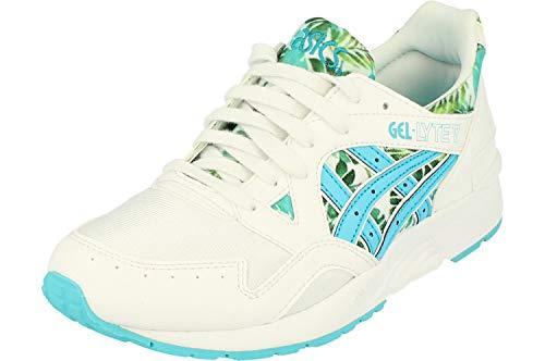 ASICS Gel-Lyte V GS Trainers C70NJ Sneakers Schuhe (UK 3.5 US 4 EU 36, White Aquarium 0139)