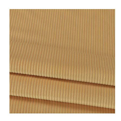 Stof Corduroy fluweel, 100% stof, velours, ribben, truien, broek, kostuum, sofa, overhemd, vaste breedte 150 cm