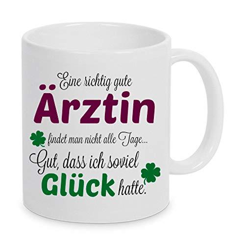 TassenKing(TM) - Eine gute Ärztin. - Tasse - Kaffeebecher - Tasse mit Spruch
