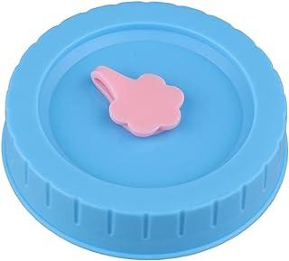 KLOVA Couvercle de Joint, couvercles de Bouchons de Rechange en Plastique de diamètre intérieur de 70 mm avec Trou de Pail...