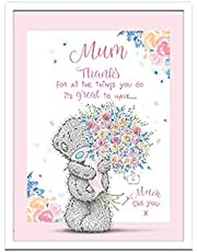 Me to You MGP01012 Ik dank u Mum Tatty Teddy Gift Plaque