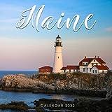 Maine Calendar 2022: Calendar 2022 with 6 Months of 2021 Bonus
