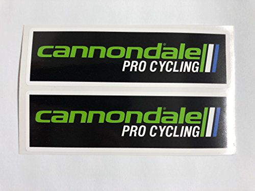 SBD Decals 2 Cannondale Cycling Adhesivos