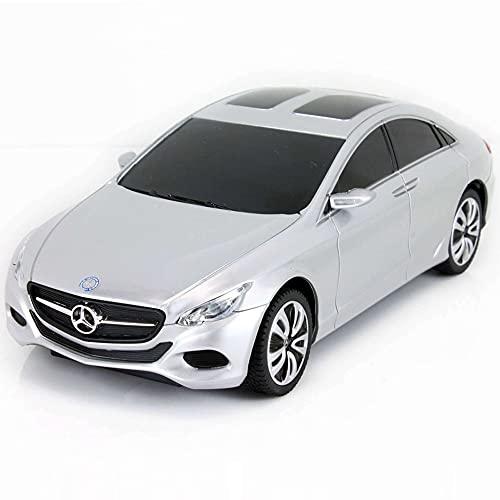 Unbekannt Mercedes-Benz F800 Concept Car - RC ferngesteuertes Lizenz-Fahrzeug im Original-Design, Modell-Maßstab 1:24, Ready-to-Drive, Auto inkl. Fernsteuerung