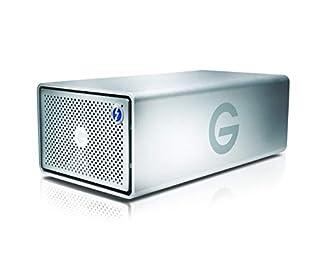 G-Technology 20TB G-RAID with Thunderbolt 3, USB-C (USB 3.1 Gen 2), and HDMI, Removable Dual Drive Storage System, Silver - 0G05763-1 (B072HS2CJN)   Amazon price tracker / tracking, Amazon price history charts, Amazon price watches, Amazon price drop alerts