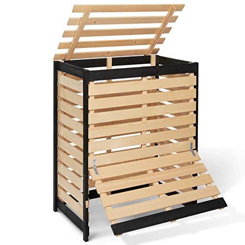 IDMarket - Bac de compostage en Bois 360L