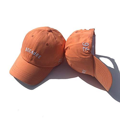 zxbm Hut Frauen Sommer Mode Wilde Paar Kappen Männer Hut Schatten Sonnencreme Baseballmütze (4)