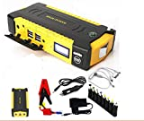 Dusri Biwi™ 69800mAh 12V LED Dual USB Car Jump Starter Booster Portable Power
