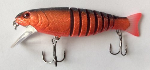 DAM Wobbler Effzett Viper Swimbait 75 mm Copperhead