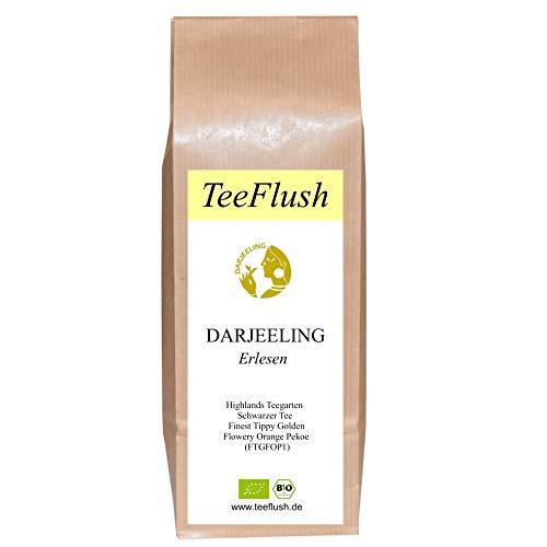 Spitzen - Darjeeling First Flush, 2020, FTGFOP1, Bio, Schwarztee, 100g, Highlands Teegarten, Geschmack: spritzig-frisch