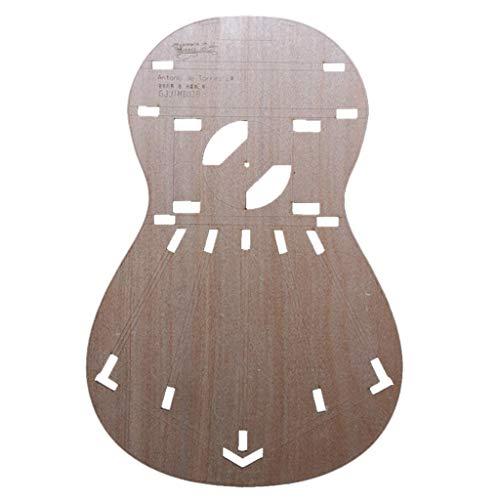 39inch Mini Guitar Body Körper Vorlage für Torres 2 Gitarren, Gitarrenbauer Werkzeug