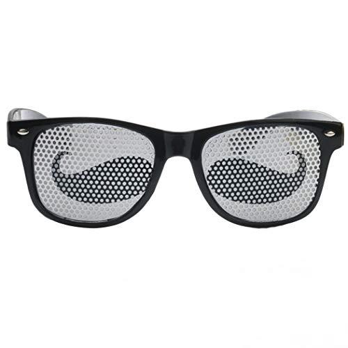 Zoylink Party Favors Gläser Halloween Brille Schnurrbart Muster Kostüm Gläser