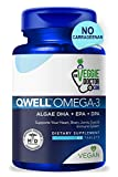 Omega 3 Better Than Fish Oil - Vegan Omega 3 Fatty Acid Supplements - No Carrageenan - Omega 3 Supplement Vegan DHA, DPA, EPA - Algae Omega 3 - Heart, Brain, Joint, Prenatal, Immune System Support