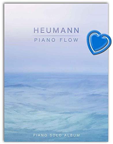 Piano Flow - Piano Solo Album von Hans-Günter Heumann - Klavierstücke mittlerer Schwierigkeit - Notenbuch mit bunter herzförmiger Notenklammer