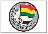Aimant de réfrigérateur Welcome To Bolivia