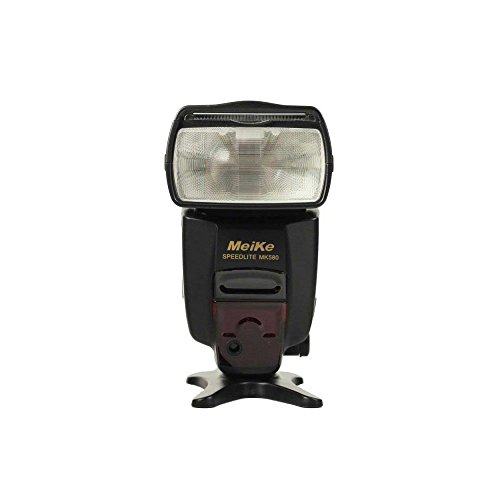 Meike 580 MK580 TTL ETTL universal flash Speedlite para Canon 5D Mark III 7D 600D
