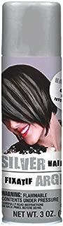 Amscan Hair Spray, Party Accessory, Silver