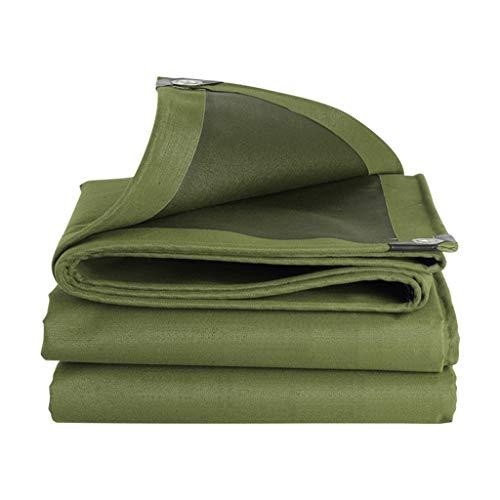 Tela de lona gruesa fácil para parasol impermeable, impermeable, protector solar, para coche, toldo portátil (tamaño: 3 x 5 m)