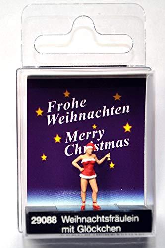 Preiser 29088 Weihnachtsfräulein mit Glöckchen Spur H0
