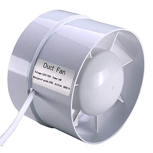 SAILFLO Extracteur en ligne de 125 mm 16W 240m³/h économe en énergie à flux mixte pour la circulation de l'air dans les conduits d'évacuation (5 inch)
