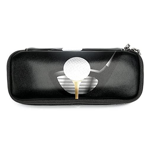 Organizador porta bolígrafo Pelota de golf Estuche Escolar Pequeña Bolsa para Lapices Estudiante Plumier Colegio Color Pencil Cases 19 x 7.5 x 3.8 cm 19x7.5x3.8cm