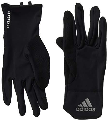 adidas Herren Aeroready Handschuhe, Black/Reflective Silver/White, L