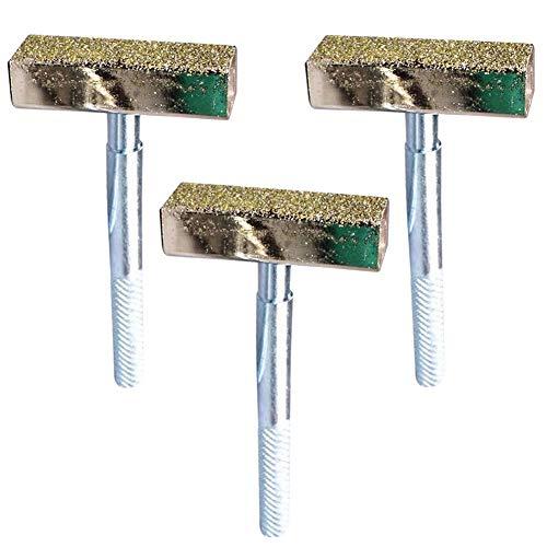 Dresser Diamant LLMZ 3 PCS Schleifscheiben Abrichten Diamond Stone Tool Schleifscheibenabrichter Diamantschleifer Diamant Schleifscheibe Heavy