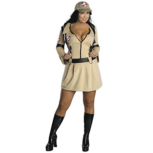 Ghostbusters 1980s Dress Halloween Outfit for Ladies. Size 18-20