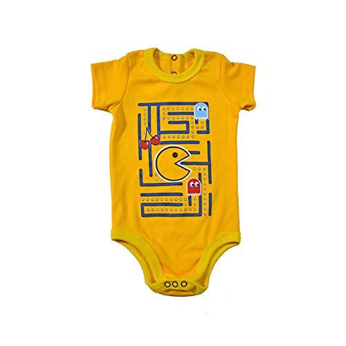 Pac-Man baby bodysuit 6 months