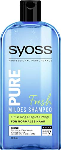 Syoss Shampoo Pure Fresh, 1er Pack (1 x 500 ml)