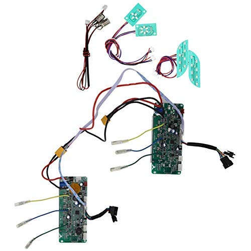 FOLOSAFENAR Equilibrio Scooter Tablero de Control de Sistema Dual Inteligente de(36V-UL Power-on Self-Balancing)