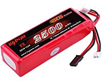 Kypom K6 11.1V 2500mAh 角 送信機用 リポ バッテリー