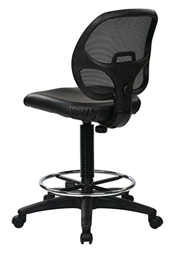 Office Star Deluxe Vinyl Seat and...