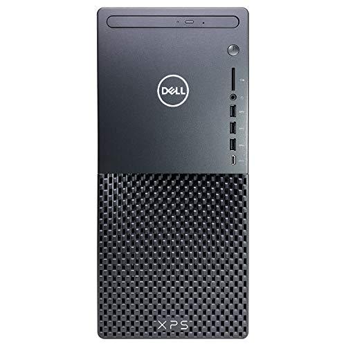 Dell XPS 8940 Tower Desktop Computer - 10th Gen Intel Core i7-10700 8-Core up to 4.80 GHz CPU, 64GB DDR4 RAM, 2TB SSD + 4TB Hard Drive, Intel UHD Graphics 630, DVD Burner, Windows 10 Home, Black