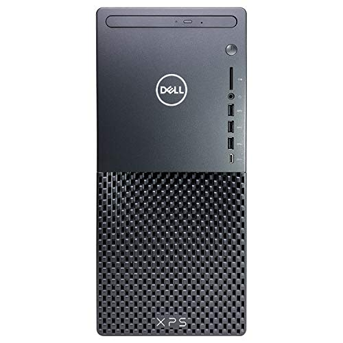 Dell XPS 8940 Tower Desktop Computer - 10th Gen Intel Core i7-10700 8-Core up to 4.80 GHz CPU, 32GB DDR4 RAM, 512GB SSD + 3TB Hard Drive, Intel UHD Graphics 630, DVD Burner, Windows 10 Pro, Black