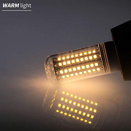 E27 LED-lamp E14 lamp lamp lamp GU10 220 V Kandelaar 5730 SMD 2835 Bombillas 30 36 48 56 69 89 102 LEDs verlichting huis 110 V warm wit 2835SMD E27 48 LEDs 2 jaar garantie