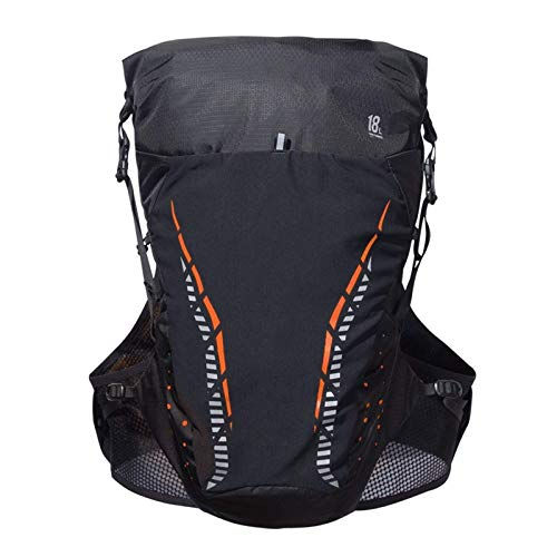 Jtoony Mochila de hidratación súper ligera para exteriores, mochila de camping (tamaño L; Color: rojo)