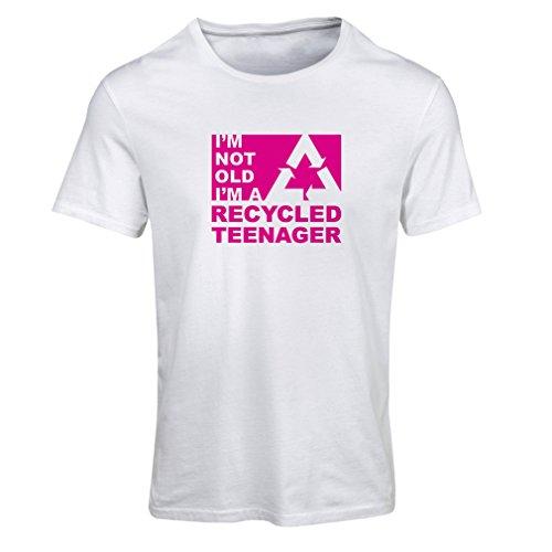 lepni.me DamesT-shirt Ik ben niet oud Ik ben een gerecycleerde tiener - Verjaardagscadeau