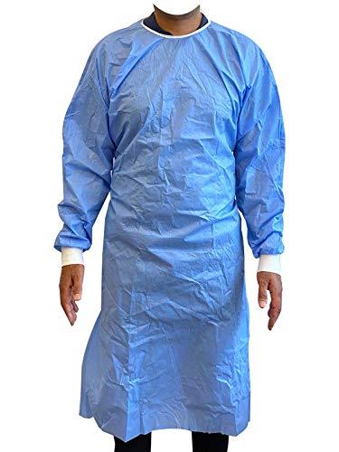 Clinix Hygene Health ChL-NSGOWN-L2XL - Vestidos de aislamiento desechables, no quirúrgicos