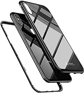 كفر ايفون 11 برو ماكس، سبكيس، صلب من الخلف، إطار مرن، تصميم يونيكورن بيتل ستايل، شفاف