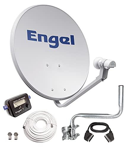 Engel AN0432E - Antena parabólica (80 cm, con soporte...