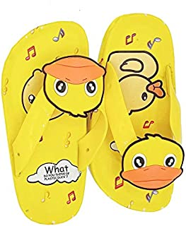 Mag Creations Duck Design Kids Flip Flop Slipper for Girls & Boys (1.5 Years to 7.5 Years)