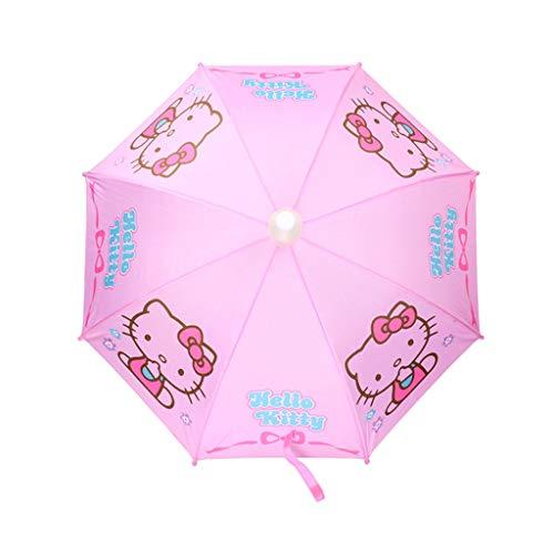 Paraplu Lange Handvat Hello Kitty Kind Recht Vrouw Student Kind HZYDD