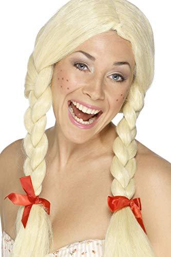 Smiffys - Perücken & Haarteile für Erwachsene in Blondine, Größe One Size