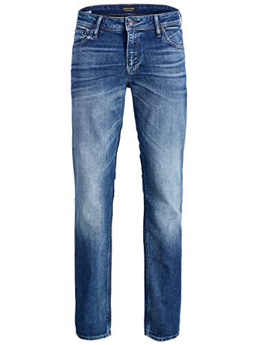 JACK & JONES Herren Regular fit Jeans Clark ORIGINAL JOS 178 3234Blue Denim
