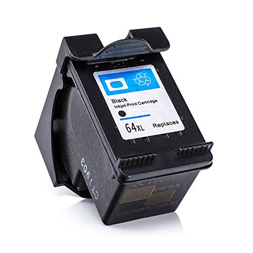 L2KB Remanufactured Ink Cartridge Replacement for HP 64XL 64 XL Ink Cartridges N9J92AN N9J91AN Combo Pack 3 Black 2 Tri-Color for Hp Envy Photo 6255 6252 7155 7855 7120 7130 Envy 5542 Printer
