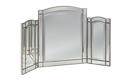 My-Furniture – Miroir triptyque du Verre trempé Antoinette