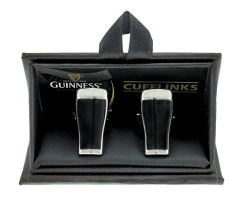 Guinness Stilvolle Manschettenknöpfe Manschette Knöpfen für Herren mit Bier Pint Design