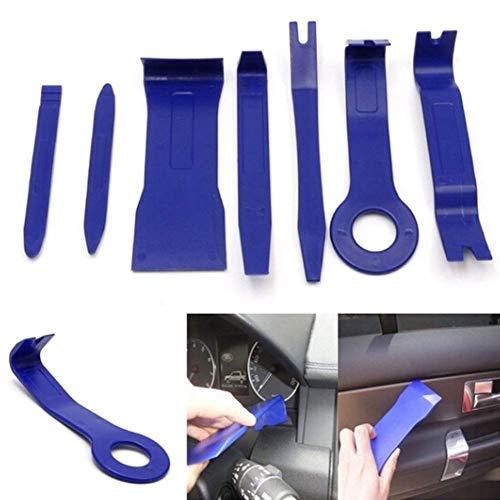 Ogquaton - 7 piezas de herramientas de plástico para puerta de salpicadero de coche