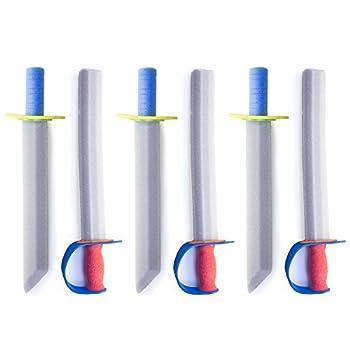 17  Foam Prince Sword Toy Set Party Supplies  6 Swords